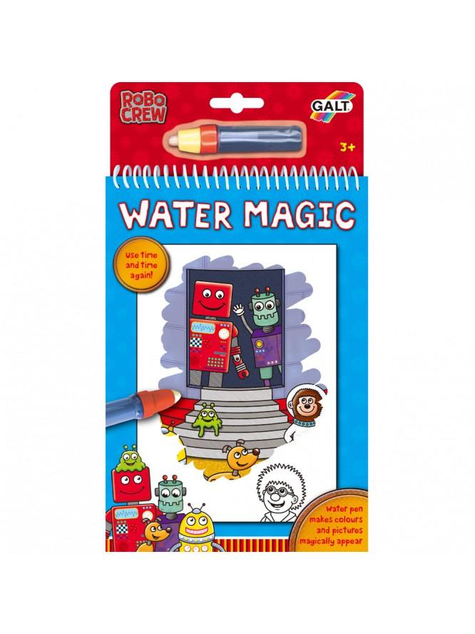 Water Magic Carte de colorat Roboti