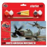 Kit constructie Avion Mustang P51