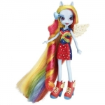 My Little Pony Equestria Girls Rainbow Dash cu Accesorii de Par