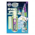 Proiector pentru desen cu pix fosforescent inclus The Original Glowstars Company B8504