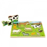Puzzle Animale domestice Hape