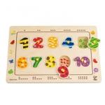 Puzzle de infipt cu numere Hape