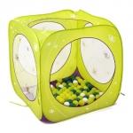 Spatiu de joaca pliabil Cub cu 80 bile Fluturi