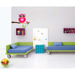 Sticker perete copii Bufnita 60 x 35 cm