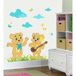 Sticker perete copii Cantaretii 108 x 80 cm
