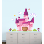 Sticker decorativ Castel