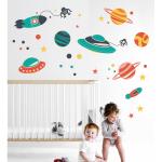 Sticker perete copii Cosmos 81 x 48 cm