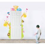 Sticker perete copii Girafe vesele 73 x 121 cm