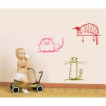 Sticker decorativ Pisicute cuminti
