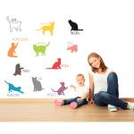 Sticker decorativ Pisicutele ne invata