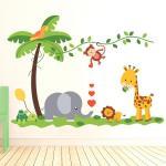 Sticker decorativ Prieteni Iubareti 118 x 59 cm