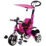 Tricicleta Multifunctionala Sport Trike Roz
