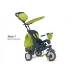 Tricicleta Smart Trike Splash 5 IN 1 Green
