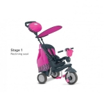 Tricicleta Smart Trike Splash 5 IN 1 Pink