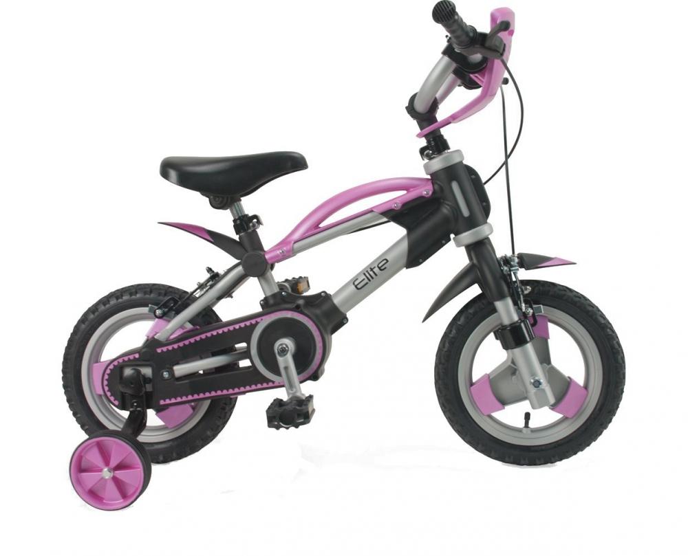 Bicicleta 2 in 1 pentru copii Injusa Elite Pink