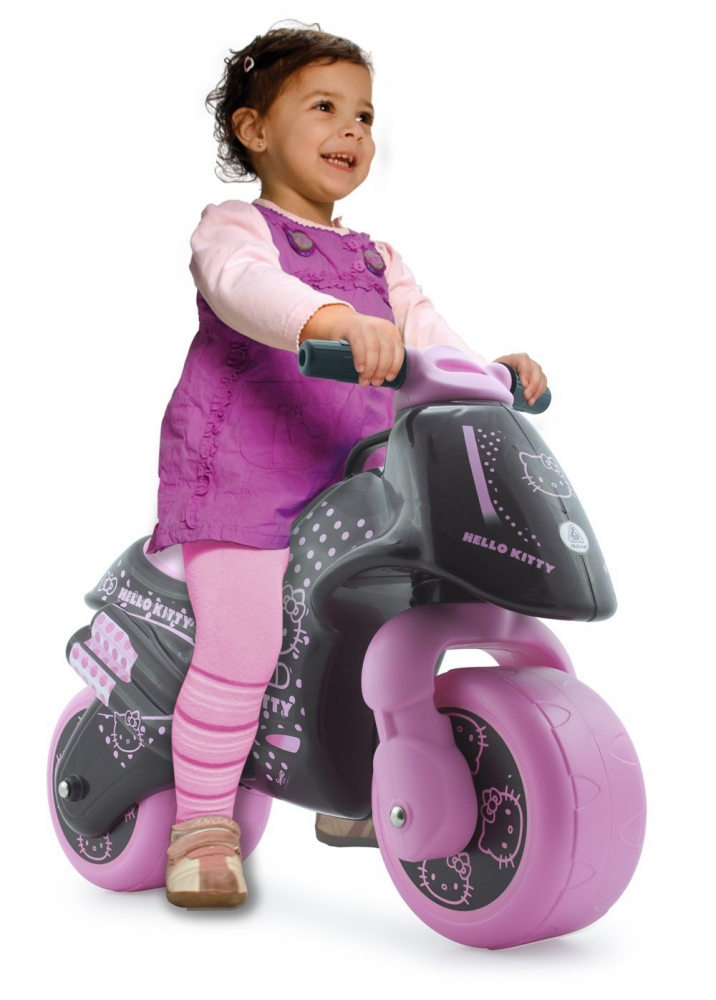 Motocicleta fara pedale Injusa Neox Hello Kitty