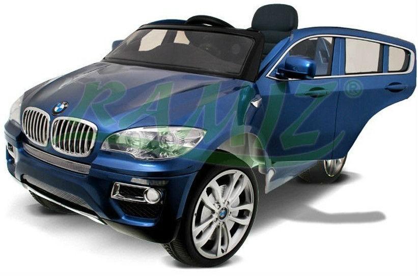 Masinuta electrica BMW X6 cu acumulator, metalizatsidefat