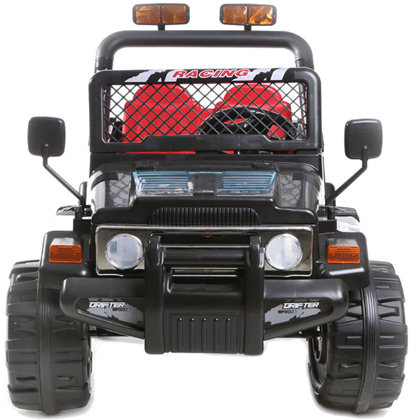 Masinuta Electrica Cu Doua Locuri Drifter Jeep 4x4 Negru