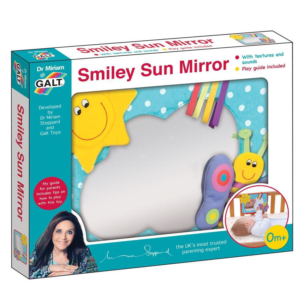Oglinda bebelusului Soarele zambaret