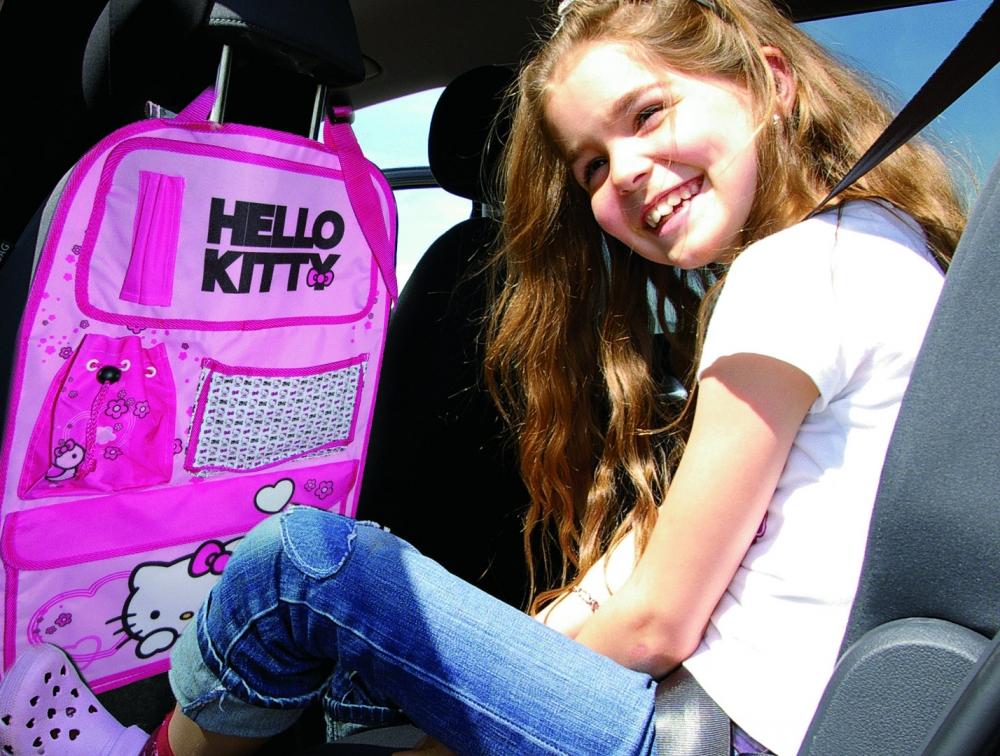 Organizator scaun auto Hello Kitty