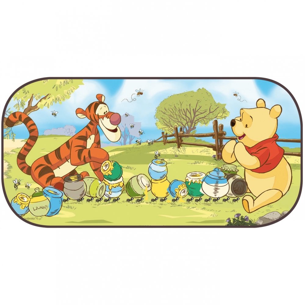 Parasolar pentru luneta Winnie the Pooh Disney Eurasia 27057 din categoria Scaune Auto Copii de la Disney Eurasia