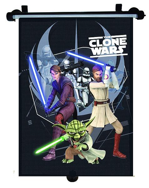 Parasolar retractabil Clone Wars