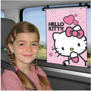 Parasolar retractabil Hello Kitty