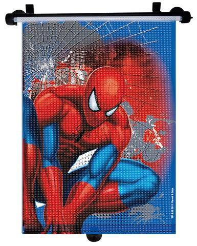 Parasolar retractabil Spiderman