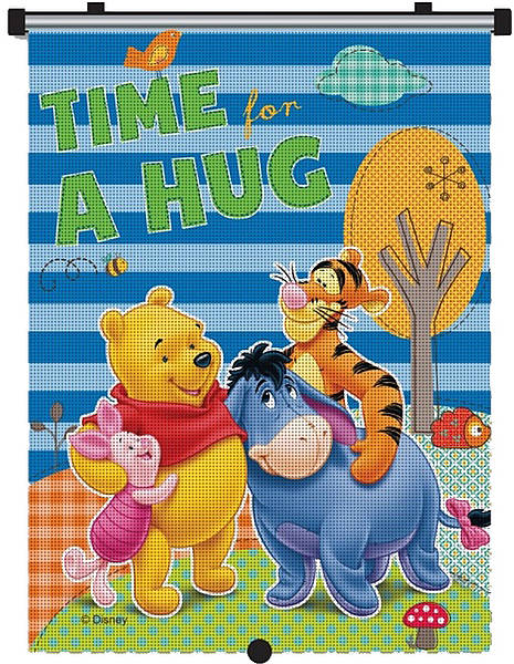 Parasolar retractabil Winnie the Pooh
