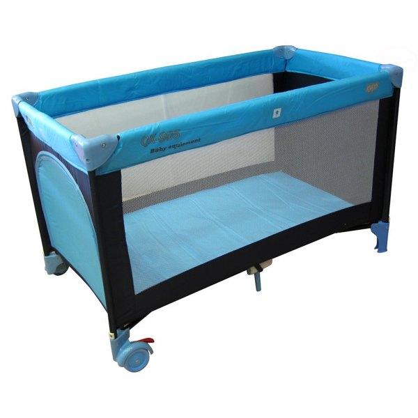 Patut pliabil EuroBaby QX-805 – Albastru din categoria Camera copilului de la EuroBaby