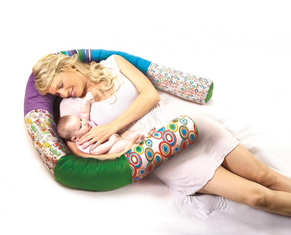 Perna Tubulara Melc pentru gravida si copii Albastru