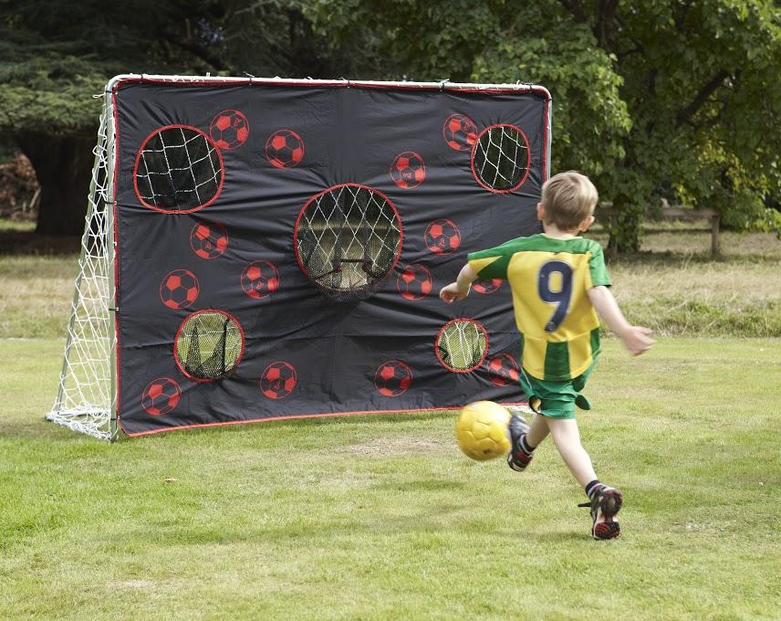 Poarta minifotbal Super Goal cu plasa de antrenament