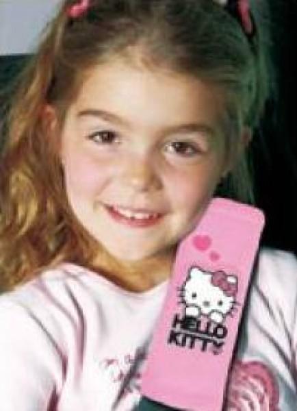 Protectie centura de siguranta Hello Kitty pink imagine
