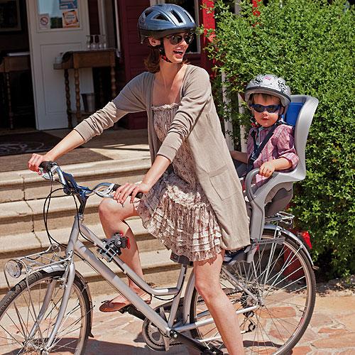 Scaun de bicicleta 10+ OKBaby albastru