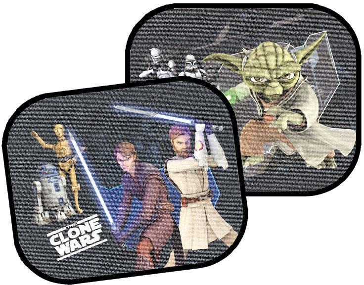 Set 2 parasolare cu ventuze Clone Wars