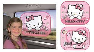 Set 2 parasolare cu ventuze Hello Kitty imagine