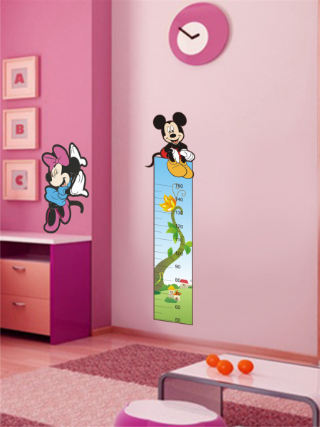 Sticker Decorativ Metru Mickey