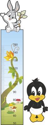 Sticker decorativ metru Bugs 63 x 160 cm