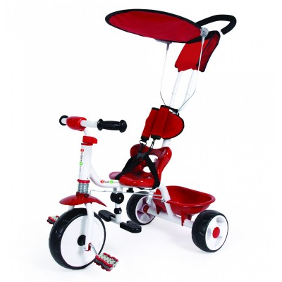 Tricicleta Copii Palau Cu Parasolar Si Ghidaj Pare