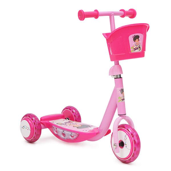 Trotineta pentru copii Music Scooter Girl