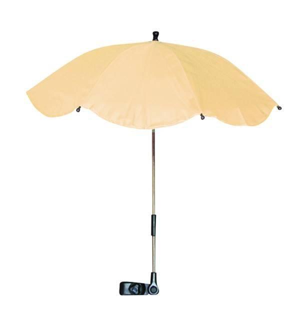 Umbrela anti-UV pentru carucior culoarea Beige