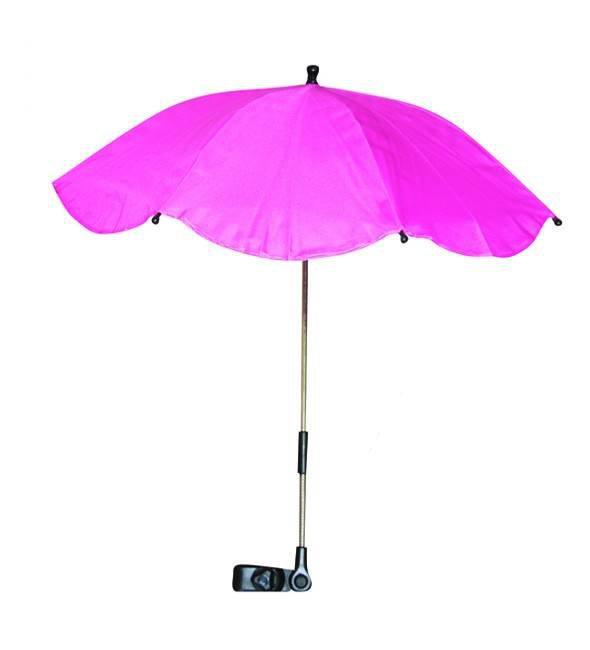 Umbrela anti-UV pentru carucior culoarea Pink