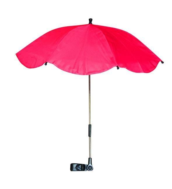 Umbrela anti-UV pentru carucior culoarea Red