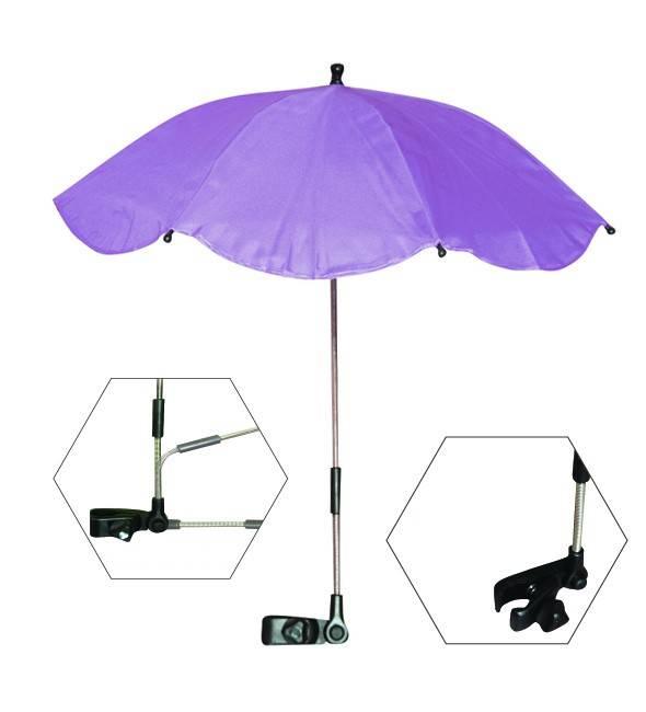Umbrela anti-UV pentru carucior culoarea purple