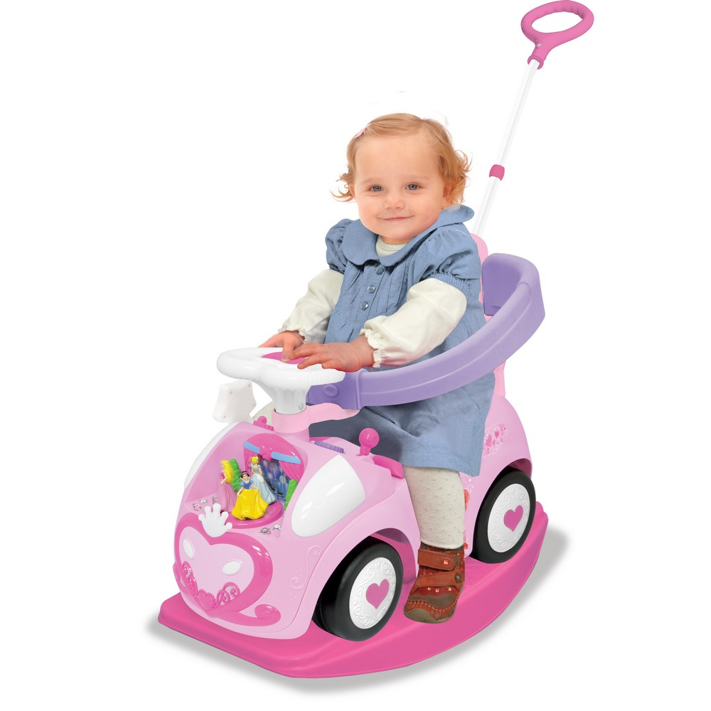 Vehicul Ride on interactiv Dancing Princess 4 in 1 Kiddieland