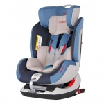 Scaun auto Vento cu Isofix si Top-Tether 0-25 kg Blue Coletto