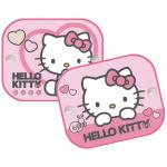 Set 2 parasolare cu ventuze Hello Kitty