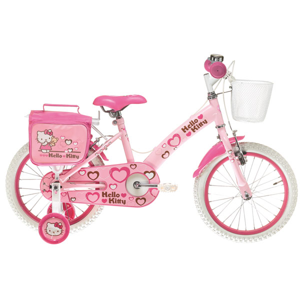 Bicicleta Copii Hello Kitty Cuori 16 Ironway