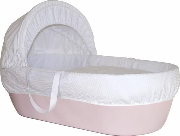 Cos bebelus Shnuggle roz
