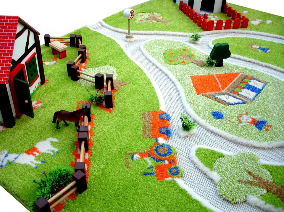 Covor Farm Yard 160x230cm imagine